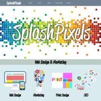 SplashPixels logo