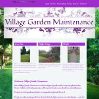 Village Garden Maintenance  logo