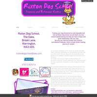 Rixton Dog School logo