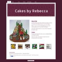 Cakes by Rebecca logo