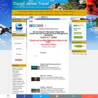 Darrell James Travel logo
