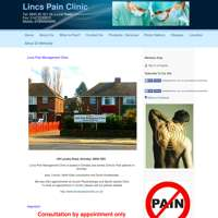 Lincs Pain Management Clinic logo