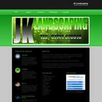 Jk landscaping  logo