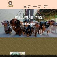 Pawspetservicesfelixstowe.co.uk  logo