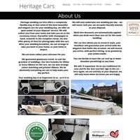 Heritage Cars logo