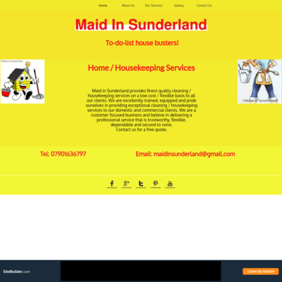 Maid In Sunderland