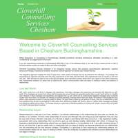 Cloverhill Counselling services logo