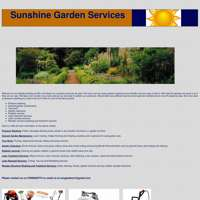 Sunshine garden contractors logo