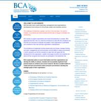 BCA Leadership, management and organisational development logo