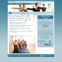 Justine Watters Pilates in Reigate logo