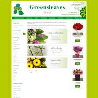 Greensleaves Florist logo