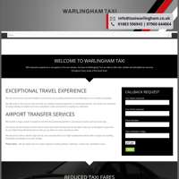 Warlingham Taxis logo