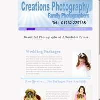 CREATIONS PHOTOGRAPHY logo