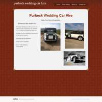Purbeck wedding car hire logo
