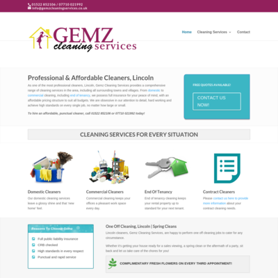 Gemz cleaning services