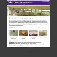 Brian Ladyman Marquees logo