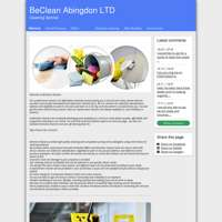 BeClean Abingdon LTD logo