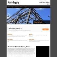Wade Supply logo