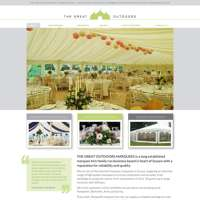 The Great Outdoors Marquees logo