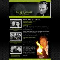 Mike Fairall magician logo