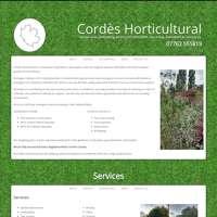Cordes Horticultural logo