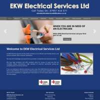 E.K.W. Electrical Services Ltd  logo