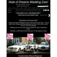 Aisle of Dreams Wedding Cars logo