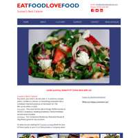 Eat Food Love Food logo