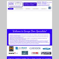 Garage door specialists  logo