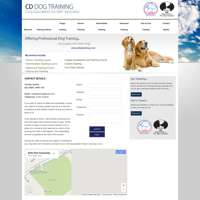CD Dog Training logo