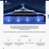 ECLIPSE MARQUEES logo