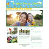 Happy snaps ltd photography/ dawnys darlings photography logo