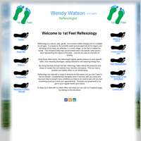 1st Feet Reflexology logo