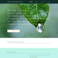 Adam Child Garden Services logo