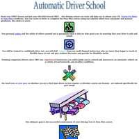 Automatic driver school  logo