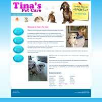 Tina's Petcare logo