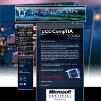 GW computers logo