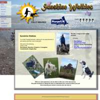 Sunshine Walkies  logo