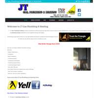 J T Gas Plumbing & Heating logo