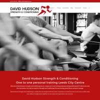 David Hudson strength & conditioning  logo