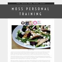 Moss personal training  logo