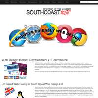 South Coast Web Design Ltd logo