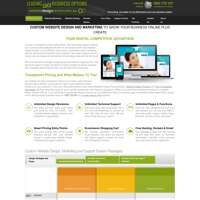 Leading Edge Business Options | Website Design Centre logo