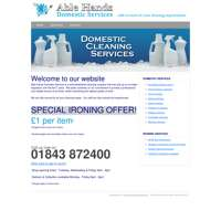 Able Hands Domestic Services  logo