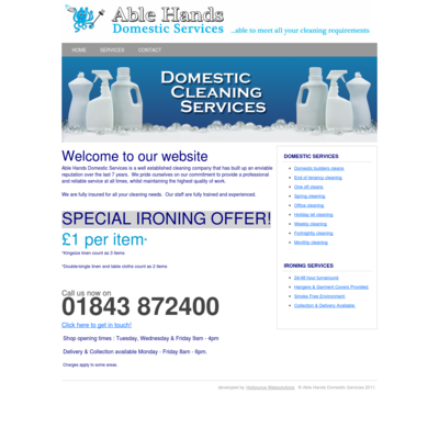 Able Hands Domestic Services