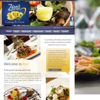 Zest Catering and Events logo
