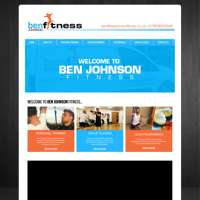 ben johnson fitness logo