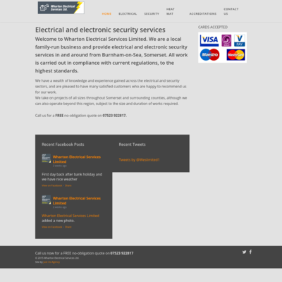 Wharton Electrical Services Limited