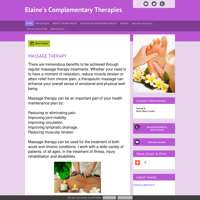 Elaine's Complementary Therapies logo