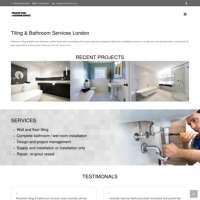 Precision tiling & bathroom services logo